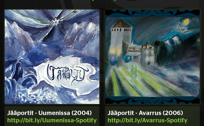 Jääportit albums available on Spotify