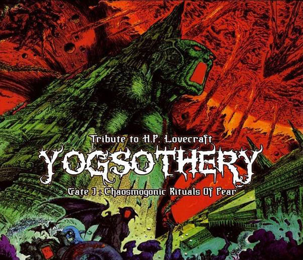 YOGSOTHERY - Chaosmogonic Rituals Of Fear